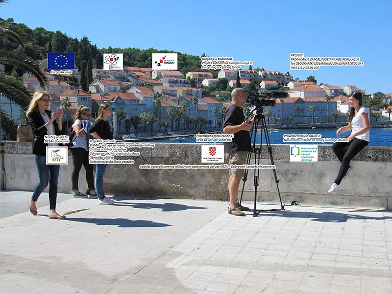 Sustainable platform for youth at remote Croatian islands